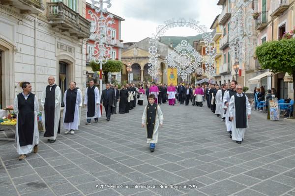 Il corteo giunge in piazza