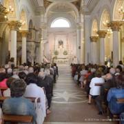 assemblea dei fedeli durante la messa