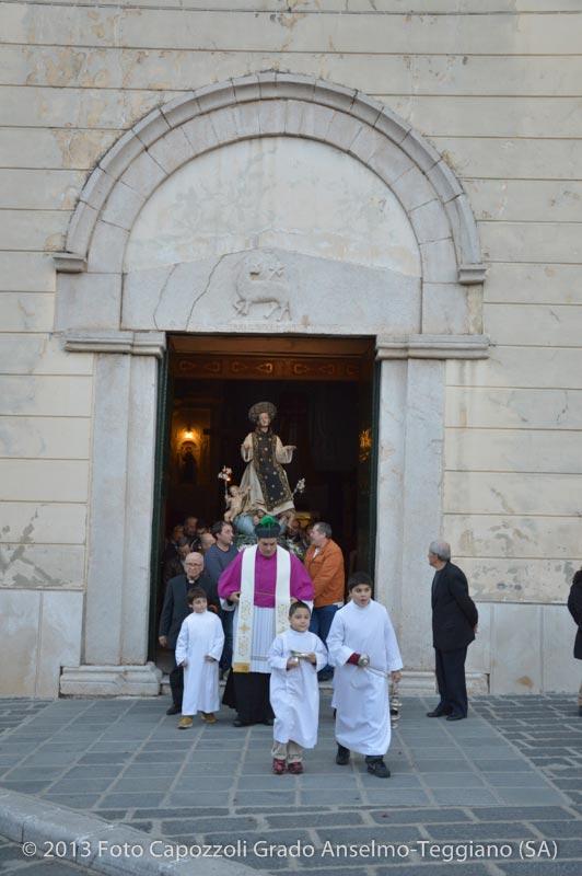 Inizio processione da chiesa San Francesco