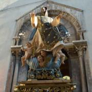 uscita di san cono dalla cattedrale