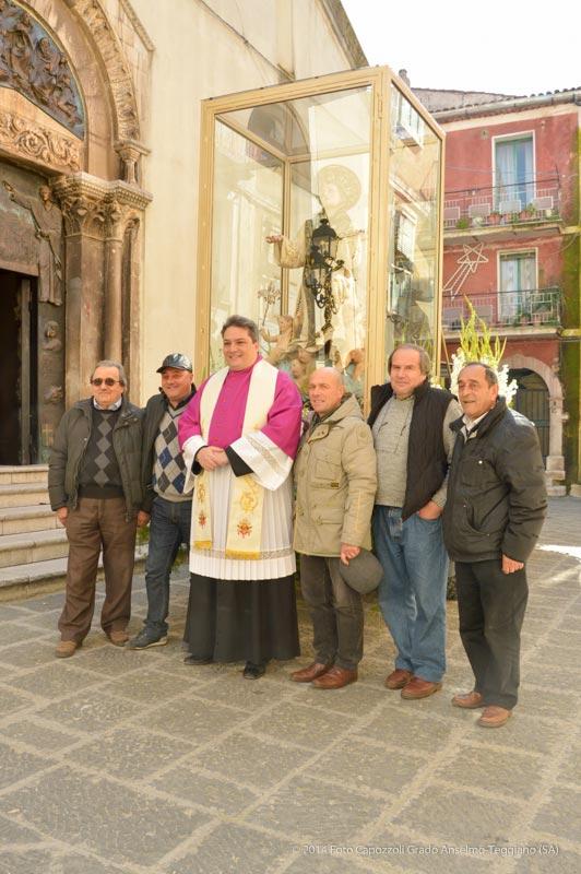 Foto ricordo davanti la Cattedrale