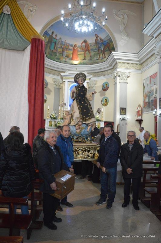 I portatori della Statua di San Cono