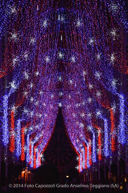 Luminarie Tricentenario Statua di San Cono 02