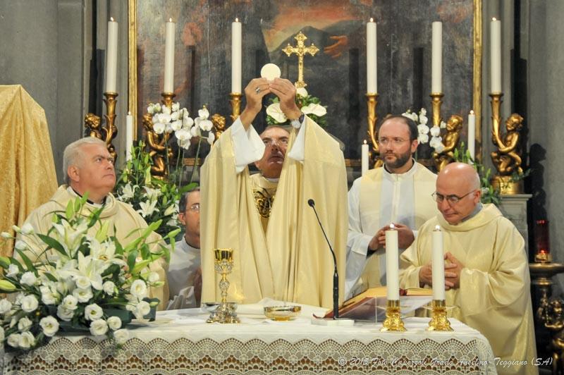 Celebrazione e Benedizione statua di San Cono a Cascina (2)