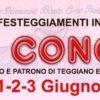 Programma per i solenni festeggiamenti in onore di San Cono, 1-2 e 3 giugno 2016