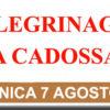 Domenica 7 agosto, annuale Pellegrinaggio a Cadossa in onore di San Cono