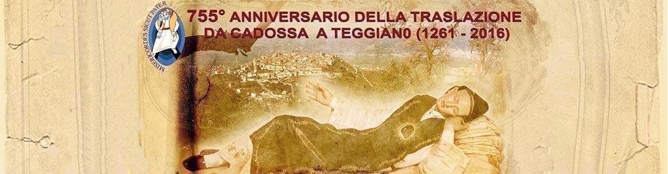755° Anniversario della Traslazione (1261-2016)