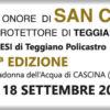 Quarta edizione dei festeggiamenti per San Cono a Cascina (Pisa)