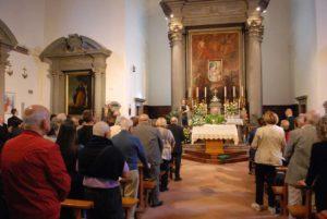 Messa celebrata da mons. Armando Zappolini per San Cono di Cascina (Pisa)