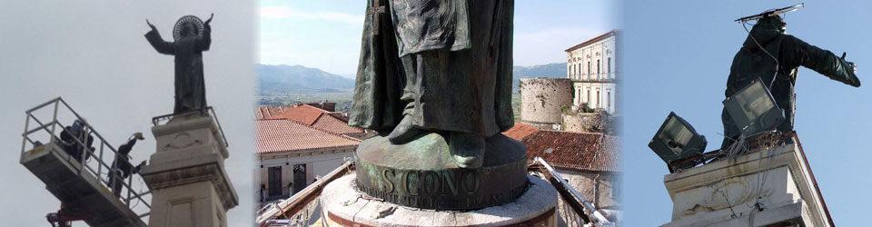 Obelisco di San Cono: qualcosa si muove!