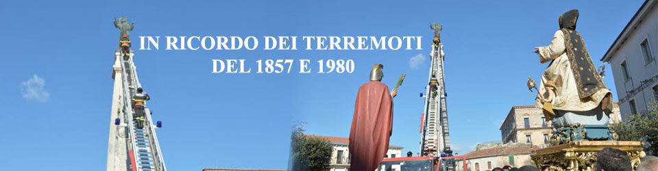 IN RICORDO DEI TERREMOTI DEL 1857 E 1980